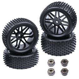 Hobbypark  1/10 Scale Off Road Buggy Tires & Wheel Rims Set