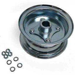"6"" Go Kart Live Axle Wheel - Split Steel 2Pc Rim - Mini Bik"