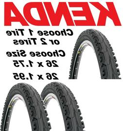 """1or 2Pak Kenda Komfort K841A 26/""""x 1.95 MTB Urban Comfort Bike Semi Slick Tire"""