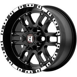 16X8 BALLISTIC 810 WIZARD, Bolt Pattern:  or , Offset: , Fin