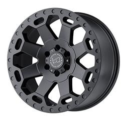 Black Rhino 1790WAR-28165G22 WARLORD Grey Wheel