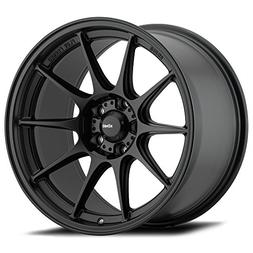 "18"" Inch Konig 57B Dekagram 18x8.5 5x114.3 +35mm Matte Black"