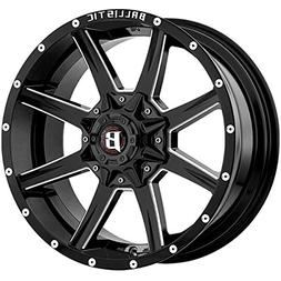 18X9 Ballistic 956 Razor Back, Bolt Pattern:  or , Offset: ,