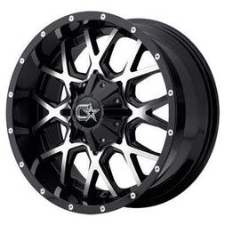 18x9 machined black 645mb rim 6x135
