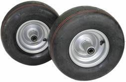 2 New 13x6.50-6 Smooth Tire & Hustler Raptor Zero Turn Mower