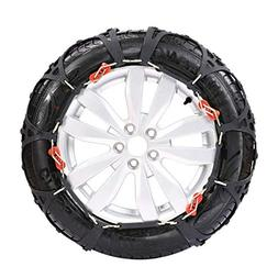 2 PCS Emergency Snow tire Chains for car, Truck &SUV,Securit