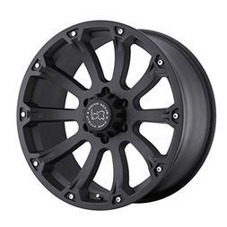 20 Inch 20x9 Black Rhino wheels Rockwell Gloss Black w/Machi