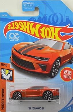 Hot Wheels 2018 50th Anniversary Muscle Mania '18 Camaro SS