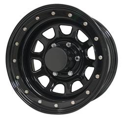 Pro Comp Wheels 252-6881 Rock Crawler Series 252 Black D-Win