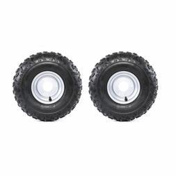 2pc 145/70-6 Wheel Tire Rim 50cc 70cc 90cc 110cc ATV Quad Go