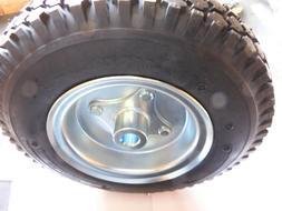 "4.10/3.50 Tire with Split 6"" Rim for 3/4"" Live Axle Rear Go"