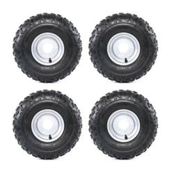 "4 x Tires Tyres with 6"" inch Rims 145/70 - 6 Go Kart ATV Bug"
