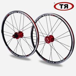 406 Folding/BMX Bike Front Wheel V/Disc Brake Wheel Rims 7/8