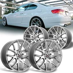 "For 4PCs NEW 19""x8.5"" 19""9.5"" Silver Alloy Car Wheel/Rim for"