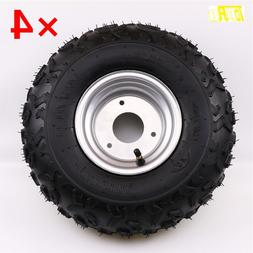 4X 145/70-6 Tire Tyre and <font><b>Rim</b></font> for 50cc 1