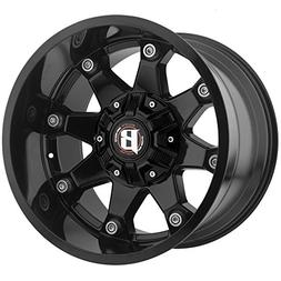 Ballistic 581 Beast 20x12 5x135/5x139.7 -44mm Gloss Black Wh