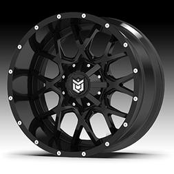 645b wheel with black finish 20x9 5x5
