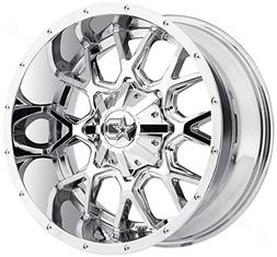 645v wheel with chrome finish 18x9 8x6
