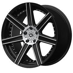 Dropstars 650MB 22x9 Black Wheel / Rim 5x4.5 with a 40mm Off