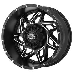Dropstars 652BM 22x14 Black Milled Wheel / Rim 6x135 & 6x5.5