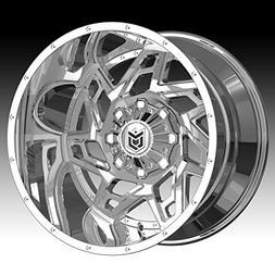 Dropstars 652V 20x12 8x170 -44mm PVD Chrome Wheel Rim