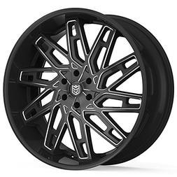 Dropstars 656BM 26x10 6x139.7 +30mm Black/Milled Wheel Rim