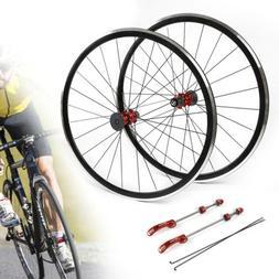 700C Ultralight Road Bicycle Wheel Front Rear Wheel Wheelset