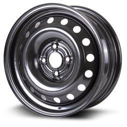 Steel Rim 15X6, 4X100, 57.1, 45, black finish  X99123N