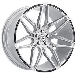 Asanti Black ABL-11 20x9 Silver Wheel / Rim 5x112 with a 35m