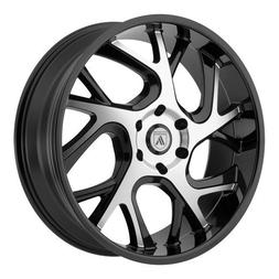 Asanti Black ABL-16 24x9 Black Machined Wheel / Rim 6x5.5 wi