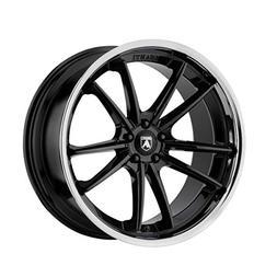 Asanti Black ABL-23 20x9 5x120 +35mm Black/Chrome Lip Wheel