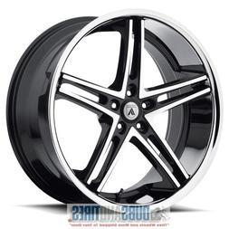 Asanti Black ABL-7 20x10 Machined Black Wheel / Rim 5x112 wi