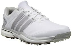 adidas Men's Adipower Boost Golf Shoe, Running White/Silver