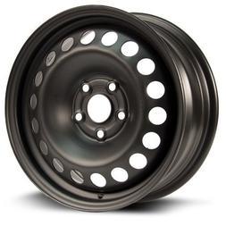 Aftermarket Steel Rim 15X6.5, 5X105, 56.6, +39, black finish