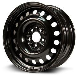Aftermarket Steel Rim 17X7, 5X115, 71.5, +20, black finish