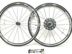 Mavic Aksium Rim Brake Road Bike Wheelset Yksion 25C Tires 7