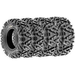 SunF ALL TERRAIN ATV UTV 6 Ply Race Tires 27x9-12 & 27x11-12