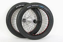 Bullseye MonsterWheels 26 inch Aluminum Rims Fat Tire Bike W