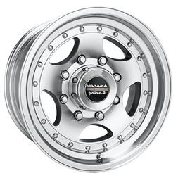 American Racing AR23 Machined Wheel with Clear Coat