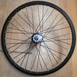 "BLACK 20"" REAR ALUMINUM BIKE BICYCLE RIM/HUB RMR325"