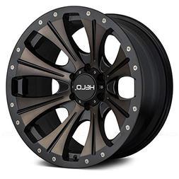 HELO Custom Wheel Rim HE901 Satin Black with Dark Tint
