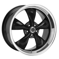 American Racing Torq Thrust M Gloss Black Wheel with Machine