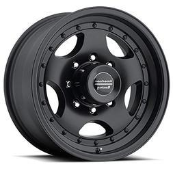 American Racing Custom Wheels AR23 Satin Black Wheel With Cl