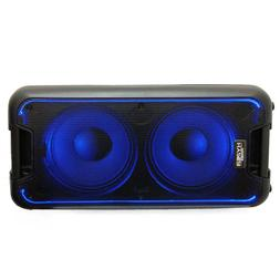 "HyperPower Double-10"" Bluetooth Portable Party Box Speaker S"