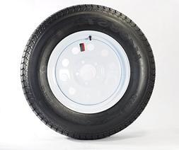"""Eco Trailer Tire + Rim ST205/75D15 F78-15 205/75-15 15"""" LRC"""