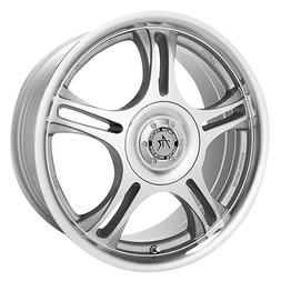 American Racing Estrella AR95 Machined Finish Wheel with Cle