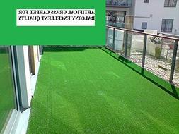 "Ottomanson R350-4X7 Area Rug, 3'11"" x 6'6"", Green"