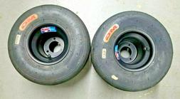 Go Kart Wheels and Tires, Pair, Optional Wheel Hubs, New Whe