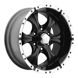 Helo HE791 Gloss Black Machined Wheel -