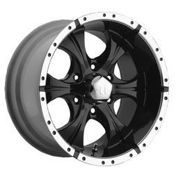 Helo Maxx Wheel with Gloss Black Machined